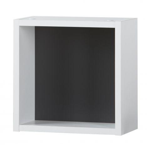Cube deco Artem 30x30 - blanc