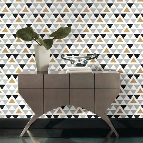Sticker mural papier peint Geometric Triangle