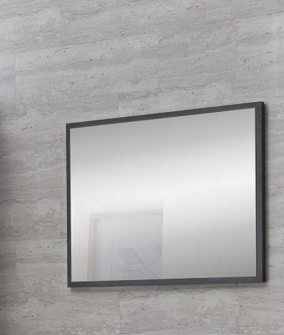 Miroir de salle de bains Rutger - gris graphite