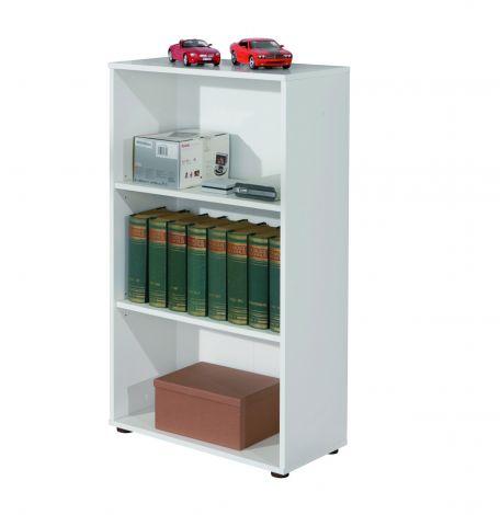 Bibliothèque Parini 3 compartiments - blanc