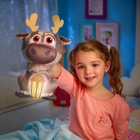 Knuffel met nachtlampje Frozen II Sven
