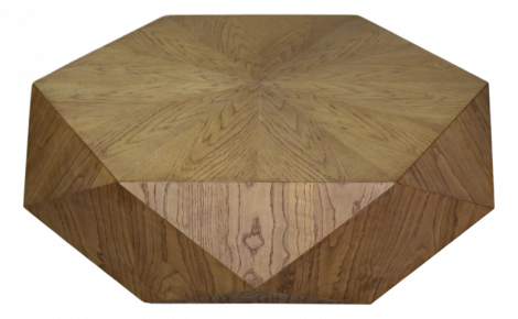 Salontafel Diamond - naturel eiken