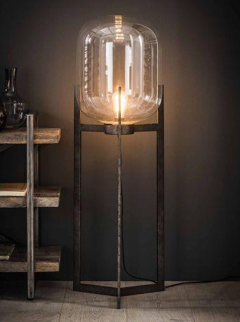 Vloerlamp Glass met frame