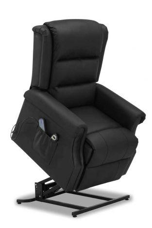 Elektrische relaxzetel Reno - zwart