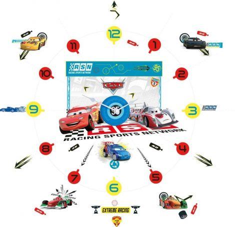 Stickers muraux Cars - Horloge