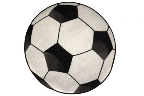 Tapis enfant Football Ø80cm