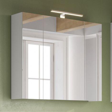 Armoire de toilette Artis/Tucker avec éclairage - blanc