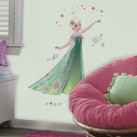RoomMates stickers muraux - Frozen Fever Elsa