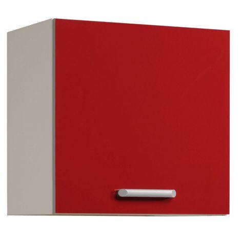 Bovenkast Glossy Red 60 cm - 1 deur