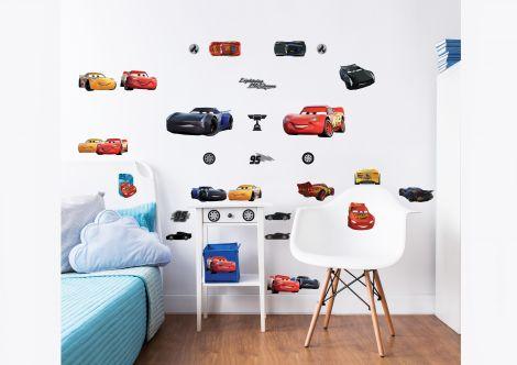 Muurstickers Disney Cars
