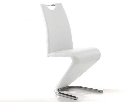 Set van 2 stoelen Lineo - wit