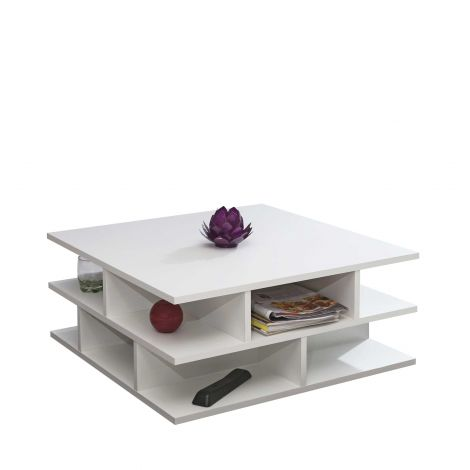 Table basse Millefeuille - blanc