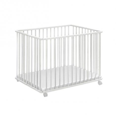 Parc bébé pliable Marlene - blanc
