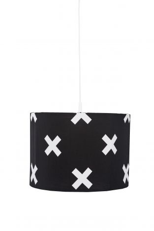 Suspension Cross - noir/blanc