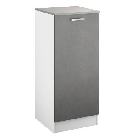 Keukenkast Eli 60x141 met deur - beton