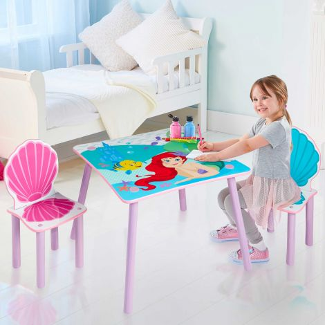 Kindertafel met stoeltjes Disney Princess Ariël