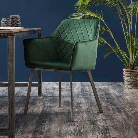 Lot de 2 fauteuils Hailey - vert