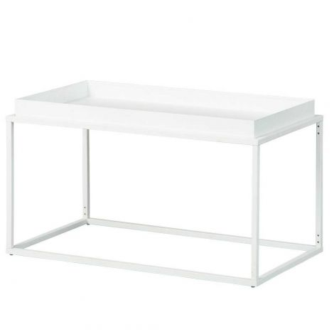 Table basse Club - blanc
