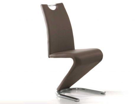 Set van 2 stoelen Lineo - bruin
