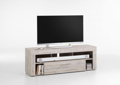 Tv-meubel Vidi 150 cm - grijze eik