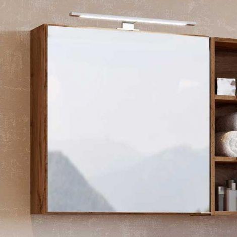 Spiegelkast Dasa 60cm met 1 deur - wotan eik