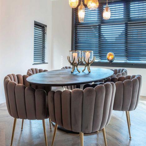 Table à dîner Blax ovale 230x100