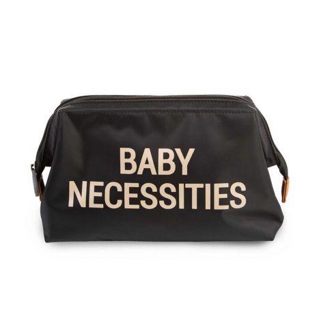 Toilettas Baby Necessities - zwart/goud