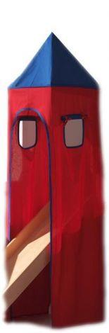 Torentent - blauw/rood