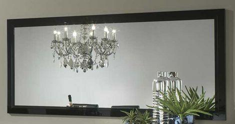 Spiegel Roma 180 cm - zwart