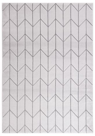 Tapis Handcarved A 230x160 - gris