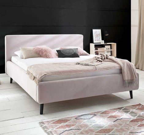 Bed Luiza 160x200 - roze