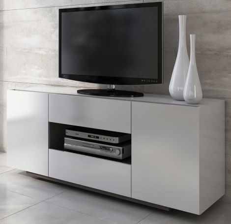 Dressoir / Tv-meubel Ivo - wit