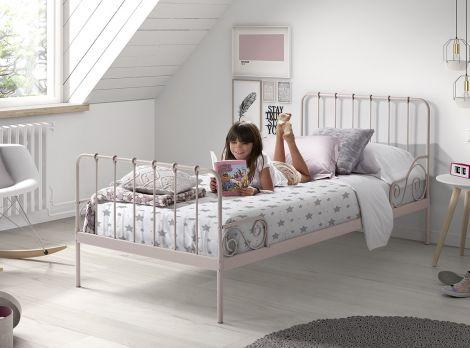 Bed Alice 90x200 - roze