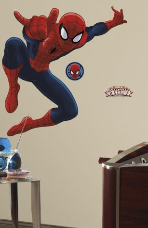 RoomMates muurstickers - Ultimate Spiderman maxi