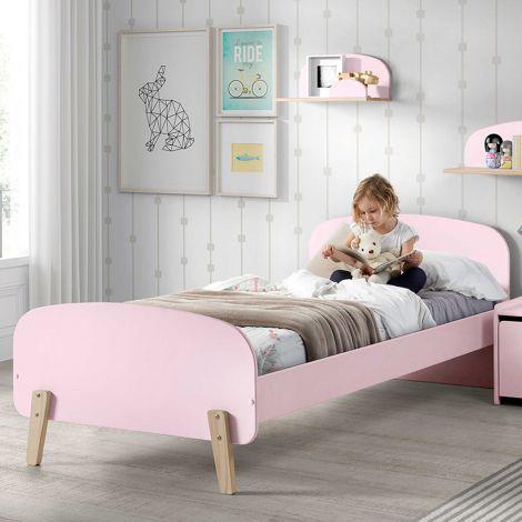 Kiddy bed 90x200 - roze