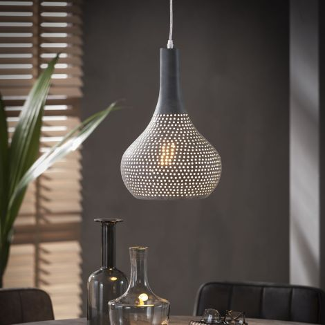 Hanglamp Cone 1 lampenkap - grijs