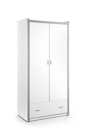 Kledingkast Bonny 2 deuren - wit