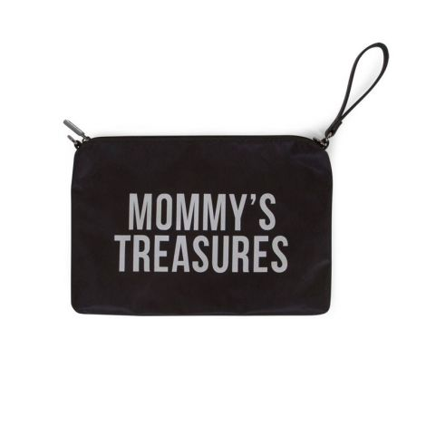 Mommy clutch - zwart