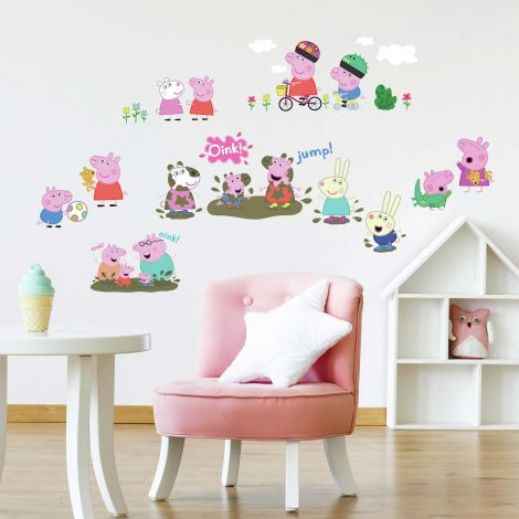 Stickers muraux Peppa Pig
