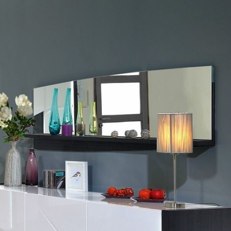 Spiegel Eloa 159cm met legplank