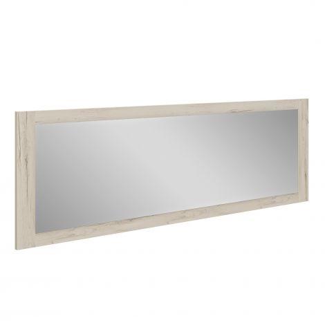 Miroir Mentor - chêne helvézia blanchi