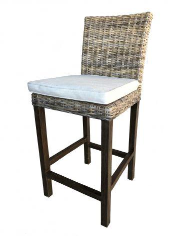 Chaise de bar Eva avec coussin