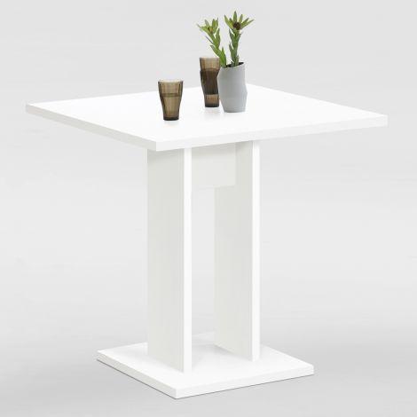 Table à manger Brandon 70x70 - blanc