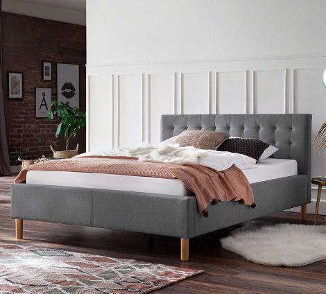 Bed Marilou 120x200 - grijs