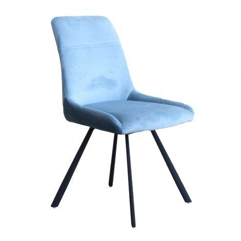 Set van 2 stoelen Ardis - blauw