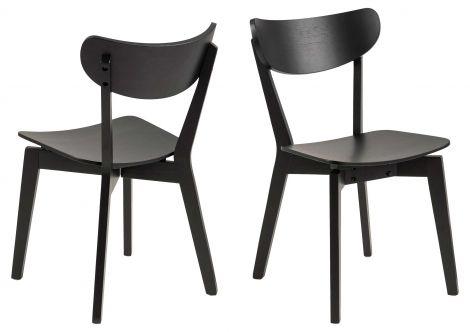 Set van 2 stoelen Adelaide - zwart