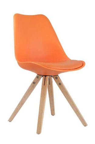 Set van 2 stoelen Lady - oranje