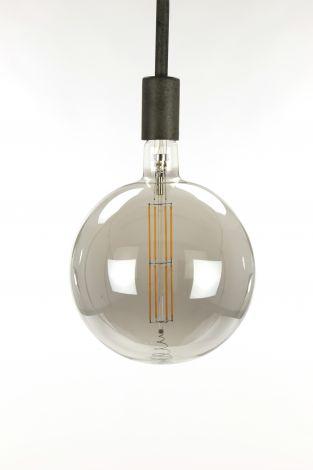 Ampoule LED à filament globe ⌀20 - gris