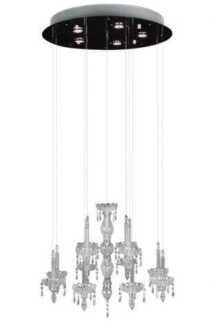 Hanglamp Ghostly Candle Ø70cm - 5x50w GU10