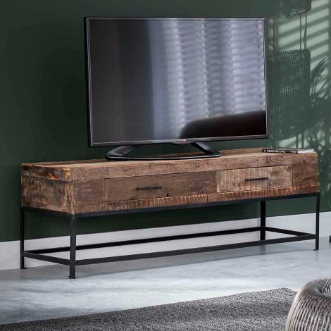 Tv-meubel Lodge 135cm gerecycleerd hout